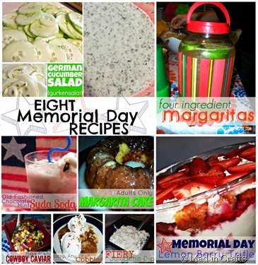 Memorial Day Recipes