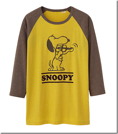 Uniqlo X Snoopy Tee - Man 01