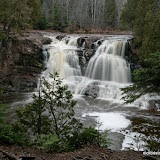 Upper Falls at Gooseberry State Park / Minnesota