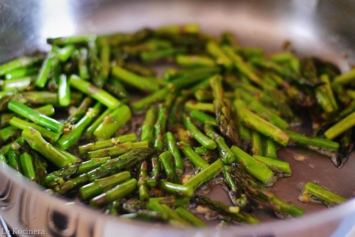 asparagus saute