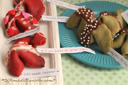Two Fortune Cookies – Red Velvet and Green Tea