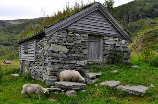 Cabañas abandonadas camino de Vik (Noruega)