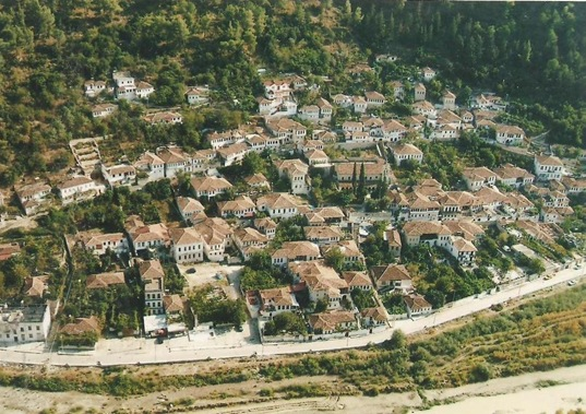berat view west