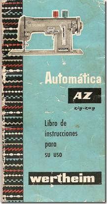 manual maquina wertheim az zig-zag.pdf - Cachivaches