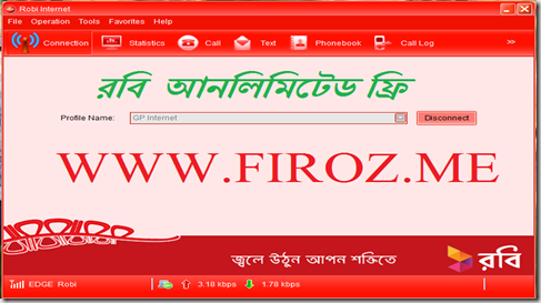 Robi Unlimited Free Net