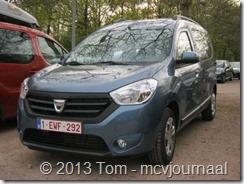 Dacia Dokker in Belgie 02