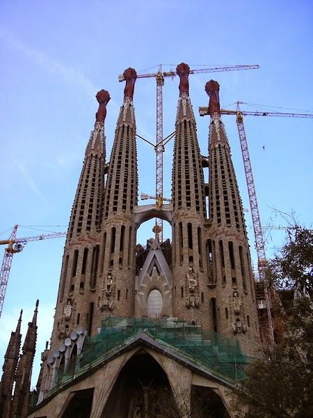 Sagrada Familia - Barcelona, Spania.