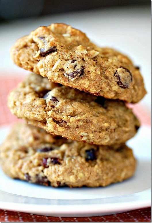 Pumpkin Chocolate Chip Cranberry Almond Cookies3