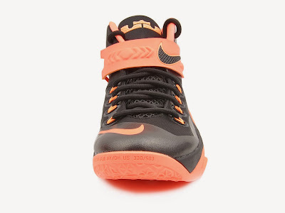 nike zoom soldier 8 gr black orange 2 04 Upcoming Nike Zoom LeBron Soldier 8   Bright Mango