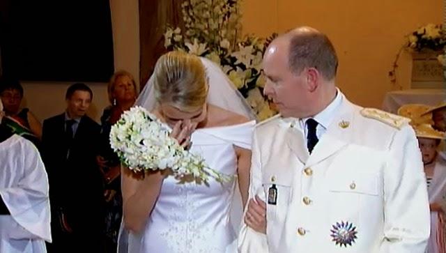 El momento en el que comenzaron las lágrimas de Charlene .