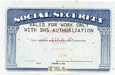 ssn social security card