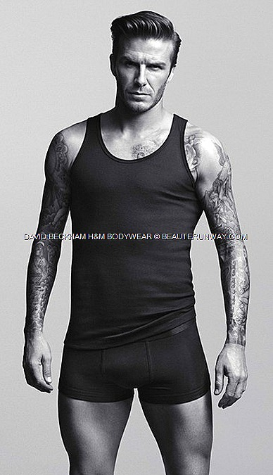 DAVID BECKHAM H&M underwear briefs, boxers, vests, T-shirts, pyjamas long johns BODYWEAR