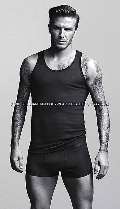 DAVID BECKHAM H&M underwear briefs, boxers, vests, T-shirts, pyjamas long johns BODYWEAR