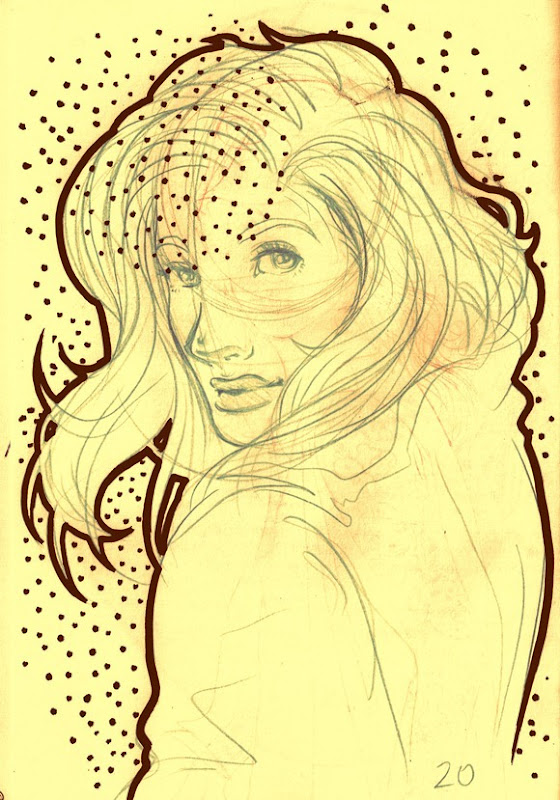 Sketch do dia carão
