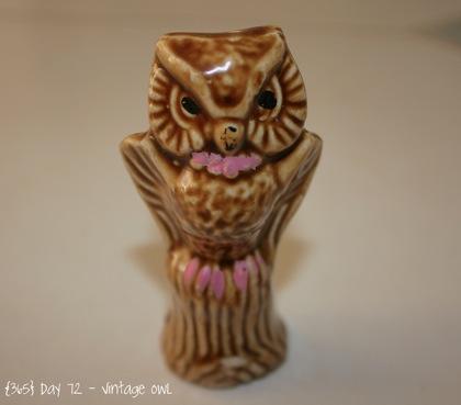 Day072 Vintage Owl