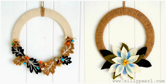 Holiday Wreaths - The Silly Pearl SHOP on Etsy