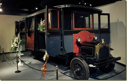 National Museum of Funeral History funeral bus