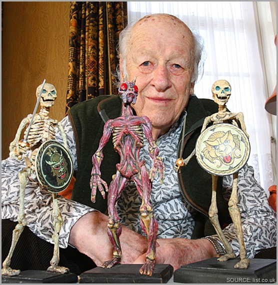 Ray Harryhausen. CLICK to read about the documentary on his life.