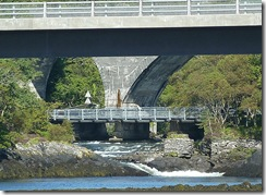 three bridges at Morar