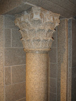 Giallo Fantasia Dark Granite Corinthian Column