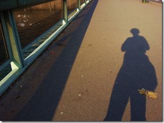 Ombre sur le pont