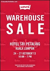 Levi's Warehouse Sale 2013 Fashion Malaysia Deals Offer Shopping EverydayOnSales