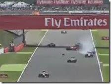L'incidente di Kimi Raikkonen