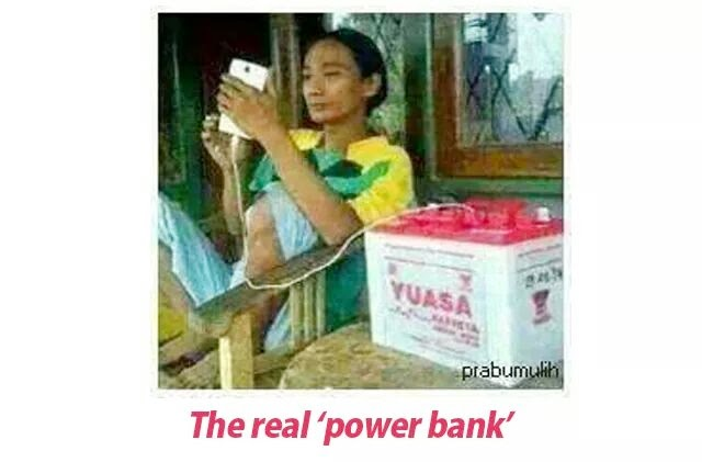 The real 'Power bank'