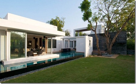 Exterior Dinesh Bungalow by atelier dnD2