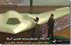 RQ-170 capturado pelo Irão. JAN 2012