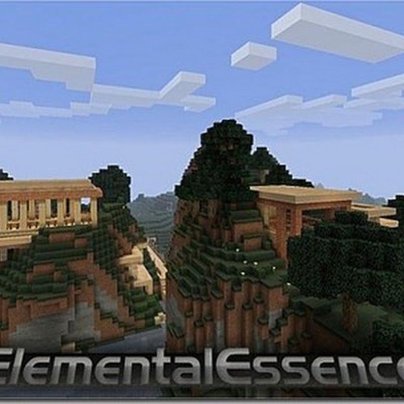 Minecraft 1.4.6 – ElementalEssence Texture pack 16x