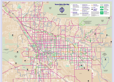 Tucson Bike Map