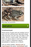 Screenshot of Reptielen en Amfibieën