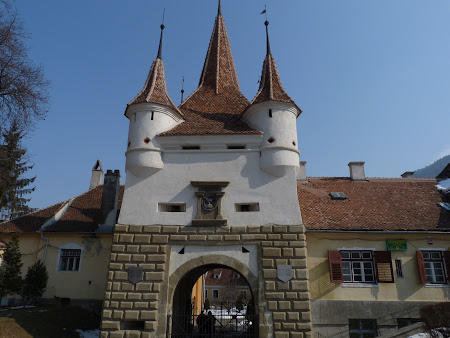 Monumente Romania: Poarta Sf. Ecaterina