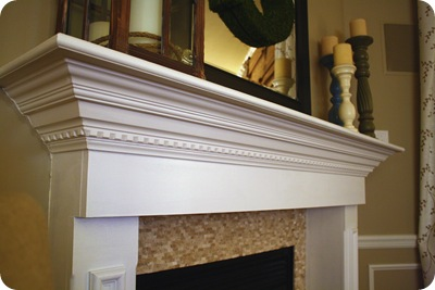 A fireplace redo! from Thrifty Decor Chick