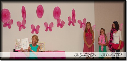 Fancy Nancy Party Assistants {A Sprinkle of This . . . . A Dash of That}