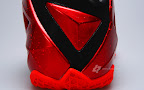 nike lebron 11 gr black red 2 08 New Photos // Nike LeBron XI Miami Heat (616175 001)