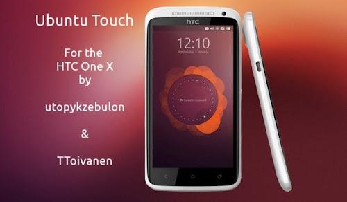 Ubuntu Phone Os  su smartphone HTC