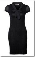 Fornarina Black Knit Dress