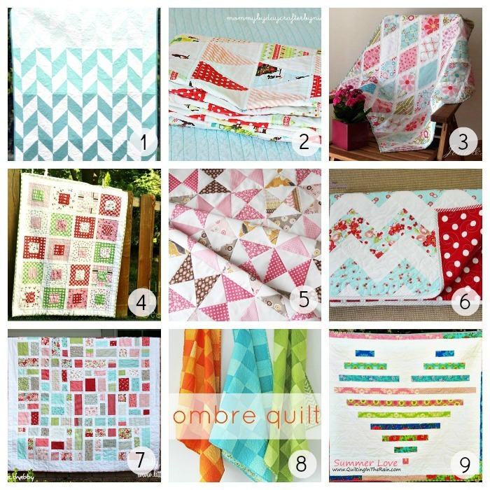 36 Gorgeous Free Quilt Patterns