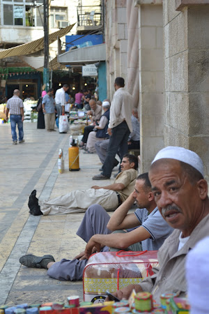 Old man in the street of Amman