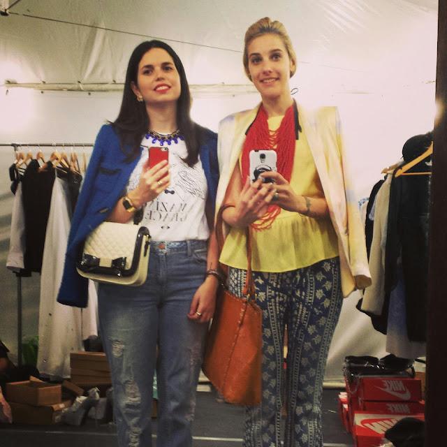 Erika Stiglitz y Sofía Bauzá Saavedra