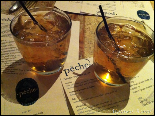 peche cocktails