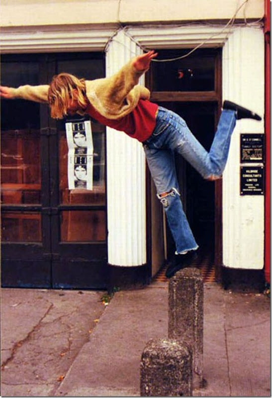 Raras fotografias de Kurt Kobain (2)