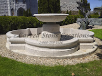 12' Quatrefoil Fountain Pool Surround, Giallo Fantasia R