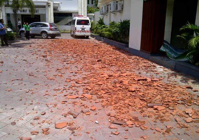 Gempa Bali 6,8 SR terasa hingga Jawa Timur