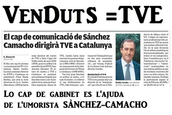 PP Catalonha remerciat per Madrid