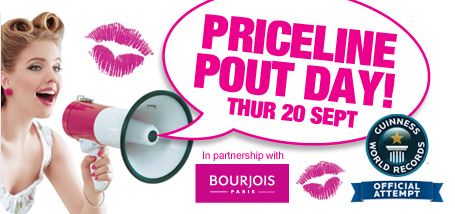 Priceline Pout Day 2012