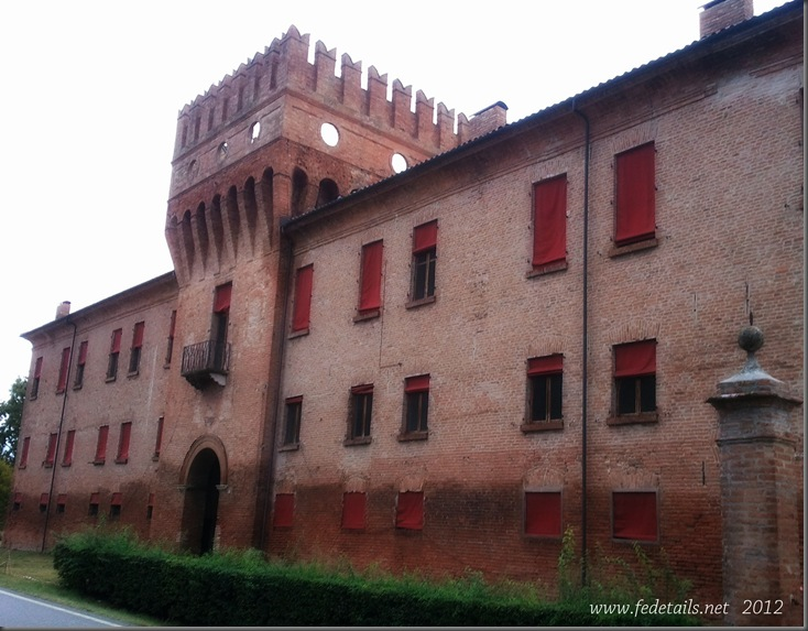 Delizia di Benvignante ( fronte ),Ferrara, Emilia Romagna, Italia - Delizia of Benvignante ( Front ), Ferrara, Emilia Romagna,Italy
