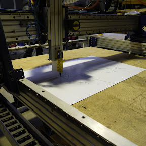 Drawing with the shopbot